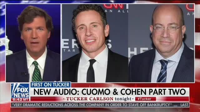 Tucker Carlson Reveals 2018 Recording Of Chris Cuomo Coaching Michael Cohen Before A Cnn Appearance Air Tv