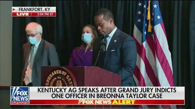 Fox News Officers Not Directly Charges In Breonna Taylor Death Air Tv