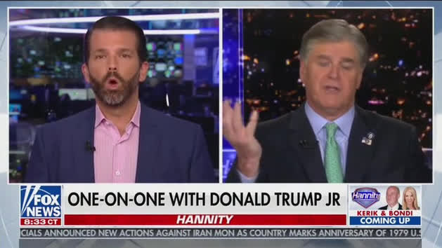 Hannity To Don Jr Nick Sandmann Will Be Richer Than Trump Air Tv
