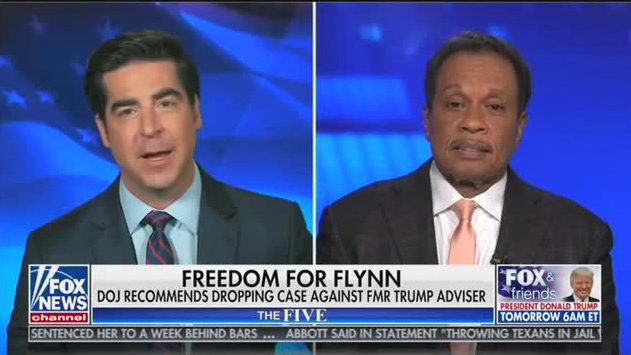 Jesse Watters Vs Juan Williams On Flynn Air Tv